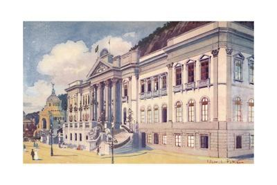 'Ministry of Agriculture, Industry and Commerce, Praia Vermelha', 1914