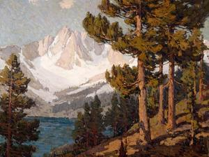 Pines by Edgar Payne