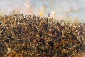 Custer's Last Stand by Edgar Samuel Paxson, 1899 by Edgar Samuel Paxson
