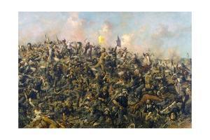 Custer's Last Stand by Edgar Samuel Paxson