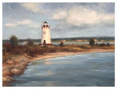 Edgartown Lighthouse-Todd Williams-Art Print
