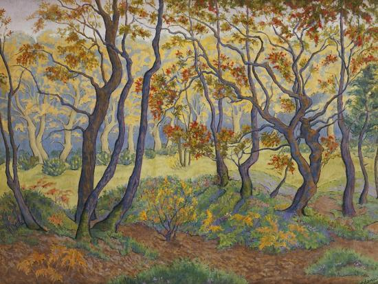 Edge of the Forest-Paul Ranson-Giclee Print