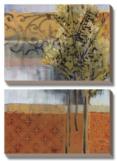 Edge of the Path-Leslie Bernsen-Canvas Art Set