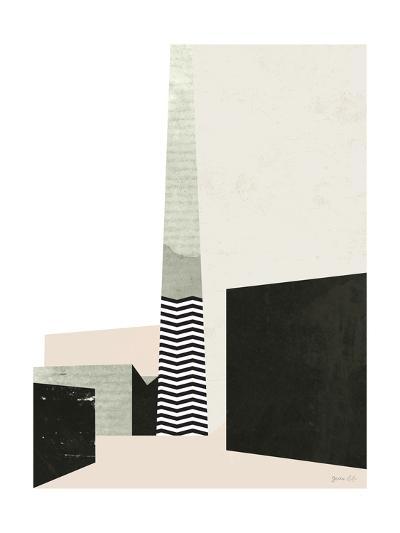 Edge of Town I-Green Lili-Art Print