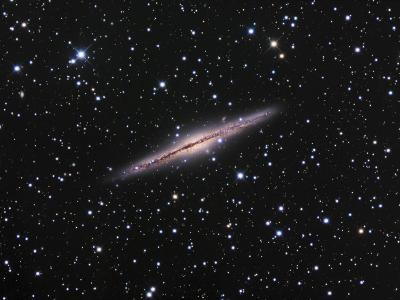 Edge-On View of the Ngc 891 Spiral Galaxy in Andromeda-Robert Gendler-Photographic Print