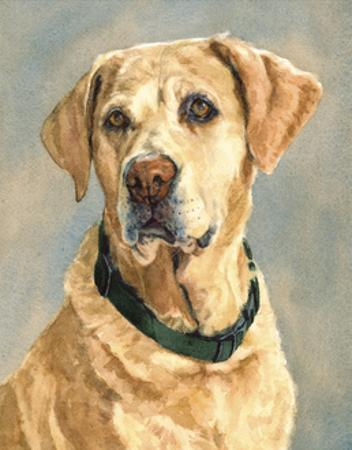 Lucy Yellow Lab by Edie Fagan