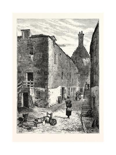 Edinburgh: Ancient Parliament House Parliament Square Leith--Giclee Print
