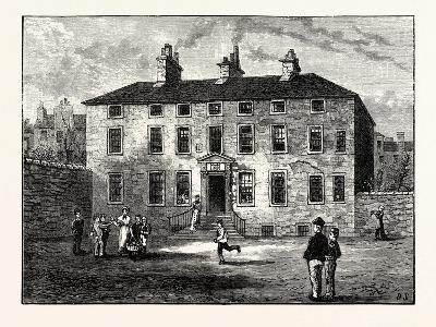 Edinburgh: Balmerino House Leith--Giclee Print
