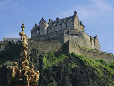 Edinburgh Castle, Edinburgh, Lothian, Scotland, UK, Europe-Roy Rainford-Photographic Print