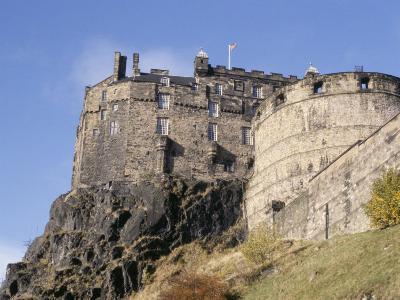 Edinburgh Castle, Edinburgh, Lothian, Scotland, United Kingdom-R H Productions-Photographic Print