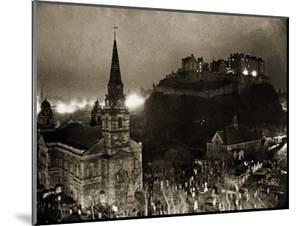 Edinburgh Castle Palace, Prison and Fortress, 1940s