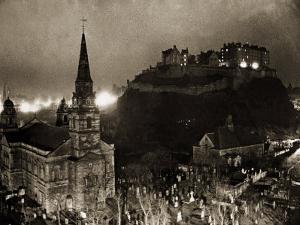 Edinburgh Castle Palace, Prison and Fortress, 1940s