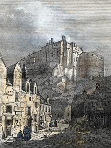 Edinburgh Castle Scotland 1833
