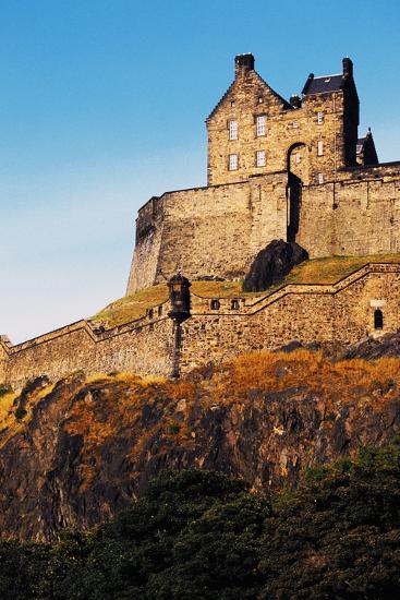 Edinburgh Castle, Scotland, United Kingdom, 12th-16th Century--Giclee Print