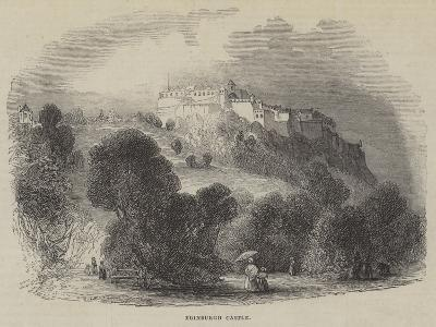 Edinburgh Castle--Giclee Print