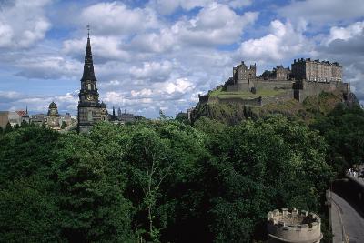 Edinburgh Castle-Vittoriano Rastelli-Photographic Print