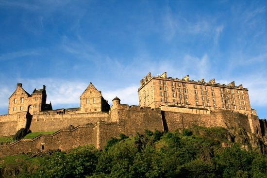 Edinburgh Castle-ZapIchigo-Photographic Print