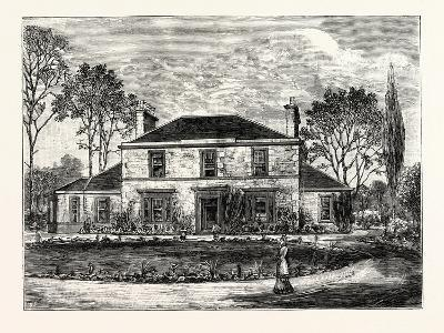 Edinburgh: Heriot's Hill House--Giclee Print