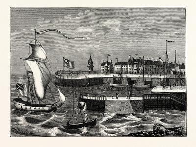 Edinburgh: Leith Harbour About 1700--Giclee Print