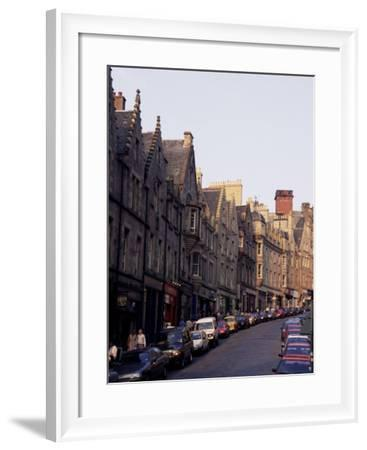 Edinburgh, Lothian, Scotland, United Kingdom-Julia Bayne-Framed Photographic Print