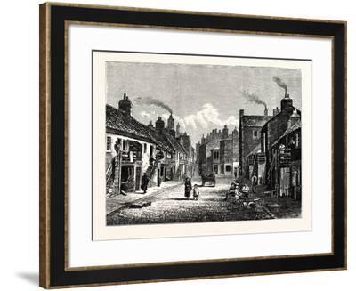 Edinburgh: Main Street Newhaven--Framed Giclee Print