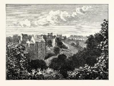 Edinburgh: Roslin Castle and Glen--Giclee Print