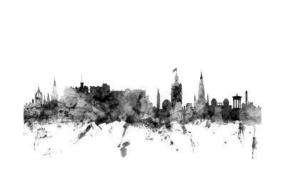 Edinburgh Scotland Skyline-Michael Tompsett-Art Print
