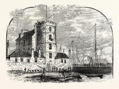 Edinburgh: Signal Tower Leith Harbour 1829--Giclee Print