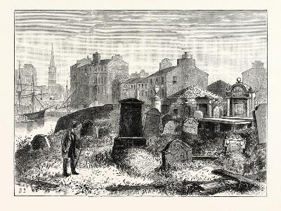 Edinburgh: St. Ninian's Churchyard Leith--Giclee Print