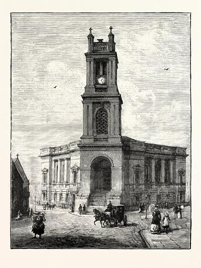Edinburgh: St. Stephen's Church--Giclee Print