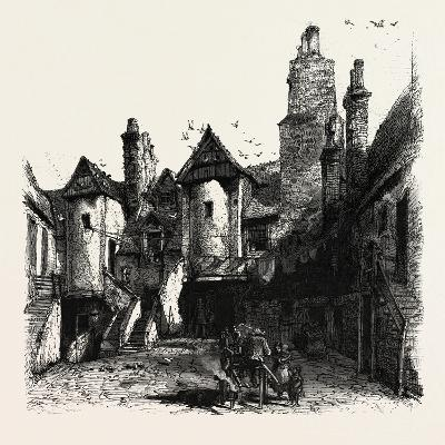 Edinburgh: the White Horse Hostel, Scotland, UK--Giclee Print