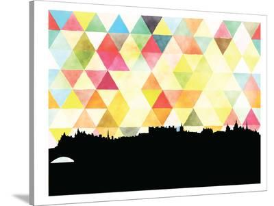Edinburgh Triangle-Paperfinch 0-Stretched Canvas Print