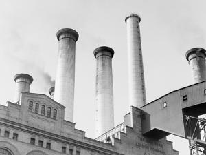 Edison Power Plant on East River