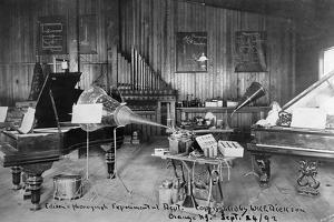 Edison's Experimental Department
