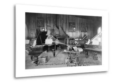 Edison's Experimental Department--Metal Print