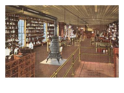 Edison's Laboratory, Dearborn, Michigan--Art Print