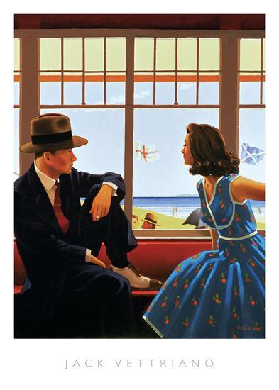 Edith and the Kingpin-Jack Vettriano-Art Print