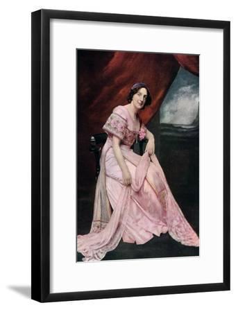 Edith Clegg, 1911-1912--Framed Giclee Print