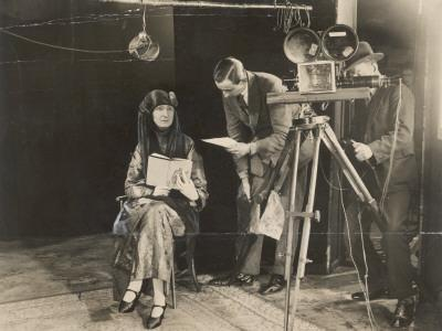 Edith Sitwell Recording--Photographic Print