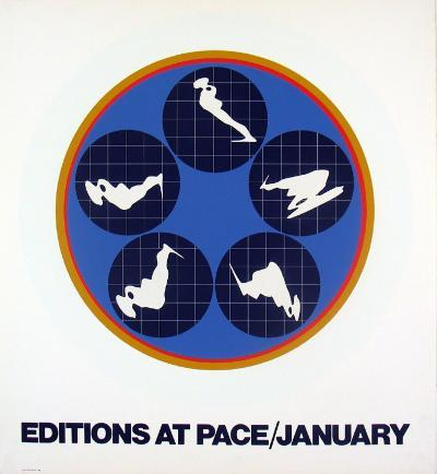 Editions at Pace, 1969-Ernest Trova-Serigraph
