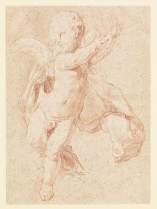 A Flying Putto by Edme Bouchardon