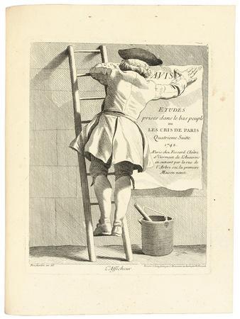 L'Afficheur, C. 1737-1746