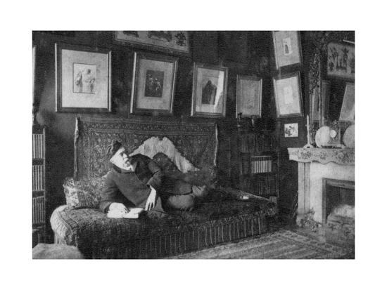 Edmond De Goncourt, French Author, 1891--Giclee Print