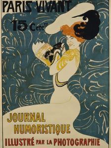Paris Vivant Poster by Edmond Marie Petitjean