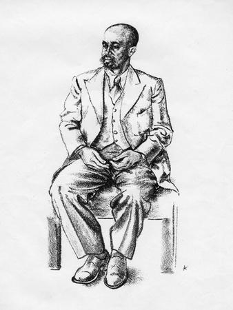 Bedjironde Tecle Hawariate, Ethiopian Statesman, 1935