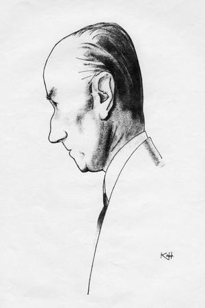Sir Samuel Hoare, British Statesman, 1935