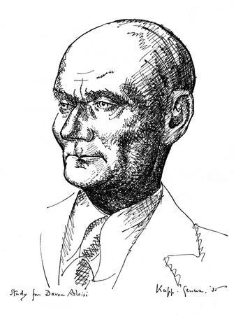 Study for Baron Aloisi, Italian Statesman, 1935