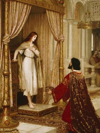 A King and a Beggar Maid, 1898 by Edmund Blair Leighton