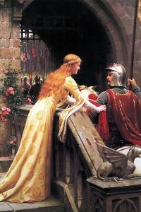 God Speed Fair Knight by Edmund Blair Leighton