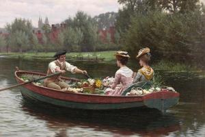 Market Day, 1900 by Edmund Blair Leighton